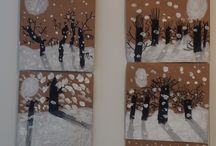 téli rajzok