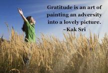 Gratitude - English 8