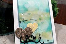cardmaking - valentin