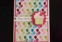 Create a Cupcake - Stampin' Up (retired) / by Diana Crawford