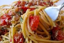 Pasta & meatless meals / by Betty Dawe