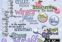 Word Art: Digital Scrapbooking Word Art by Kathryn Estry