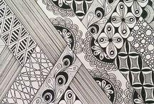 Zentangles-Arte creativa