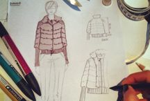 Work in progress / Scketch for new collection