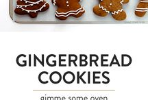 Ginger bread biscuits