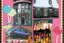 Harry Potter layouts