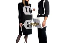Funny and Famous Couple Costumes / Even though there are many costumes for couple, some of the costumes will give more attractive and attentive in celebrating festivals. Especially those are very funny costumes and give message silently to others.