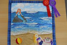 Young Quilters AGM Challenge / The Young Quilters has an annual competition for ages 5-16 and school groups. If you would like to become a member and join in the competition there are more details on our website www.youngquilters.org.uk.