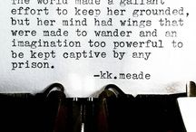 KK Meade / One of my favourite writers