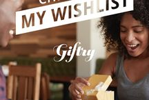 My Wantlist / a Giftry wish list