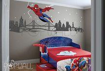 spiderman kamer