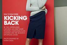 Daria Werbowy for Vogue US April 2014