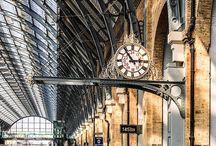 Train stations