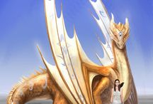 Eirik and Celestia / A dragon and his queen Runes Series
