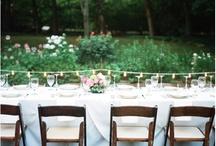 wedding table settings / by Elisa Henry