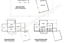 Timber Frame Homes - Floor Plans / These plans are a great place to start as you plan your dream home!