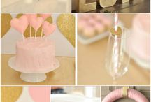 PINK AND GOLD PARTIES