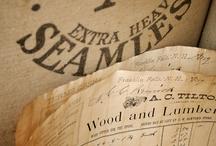 Paper, old books etc