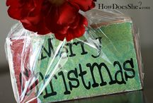 Holly Jolly Christmas Ideas / Decorating, cooking and gifting for the holidays / by Rebecca Evans