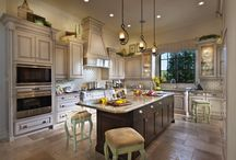 Amazing Kitchens in New Homes / Pictures of amazing kitchens in new homes.