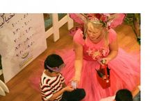 "Fairies in Dubai / Fairy magic in Dubai. In 2008 Fairy Sandie was flown to Dubai and performed for the ""World of Stories"" Her audience consisted of mostly none English speaking children and families, performing 6 shows a night, over 8 nights. Some children came every night."