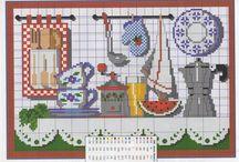 Kuchnia haft krzyżykowy