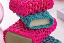 Saboneteira - crochet