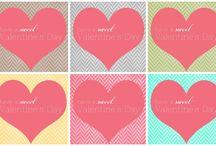 Valentine's Day DIY / Valentine's Day DIY, Valentine printables, Valentine decor and Valentine crafts