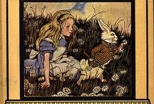 Alice in W:Books & cover / Alice in wonderland
