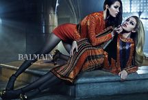 BALMAIN'S campaign Fall 2015/16