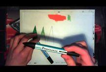 Marqueurs/ feutres/crayons