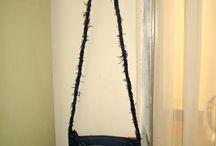 Palmi Love Ideas / Con un poco de creatividad se reciclan los jeans viejitos :)