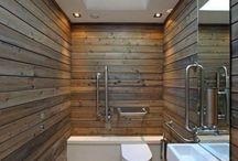 Cuartos de baño con palets