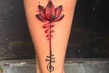 Tetoválás lótusz