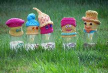 Big Knit Hats / Hats for Innocent smoothies