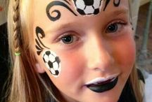 Face Paint Desporto
