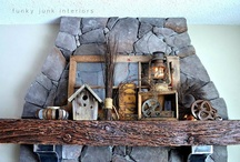 Decorating Eclectic/Crafty Style  / Eclectic, Crafty, Junk Yard, Whatever I Have on Hand Style of Decorating / by Anskee Bowers