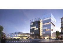 Pau, les nouvelles halles / Pendant tout le chantier en cours, ce tableau réunira des images d'architecture, d'ingénierie et des portraits de Palois au contact de cette modernisation de leur centre ville.