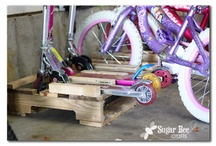 Upcycle with pallets