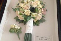 Wedding Flower Keepsakes / Ways to keep your wedding flowers alive forever in creative keepsake ways!