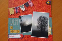 PUFFIN´s SCRAPBOOK PAGES / The 6x6 and 12x12 and 6x8 scrapbook pages I´ve creted © Puffin / Happy mail ninja