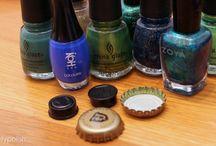 Knutselen met nagellak / Wat je kunt doen met nagellak