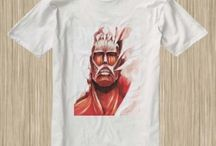 Attack On Titan Anime Tshirt / #AttackOnTitan #Anime #Titan
