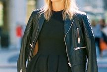 style: that black leather jacket