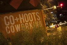 Co+Hoots / Shared working space for creatives in Phoenix, Arizona.