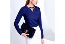 Biurowa elegancja, strój biznesowy/ office look