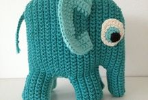 Elefant / Hæklet