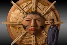 Coast Salish Carvings