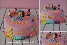 Födelsedagstårtor
