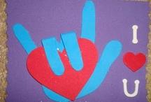 Handprint signs
